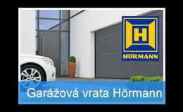 Sekční garážová vrata Hörmann s širším vjezdem