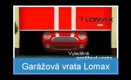 Spolehlivá sekční garážová vrata Lomax
