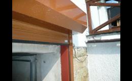 Garážová vrata rolovací - lehká, tichá, pevná