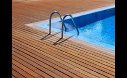 Podlahová krytina WPC na terasy a k bazénům