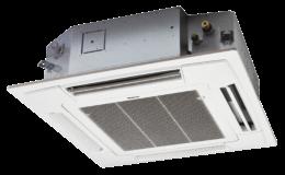 Estetické řešení chlazení díky kazetové klimatizaci