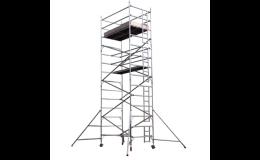 Průmyslová hliníková věž UTS - certifikované lešení