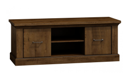 TV stolky v dřevěném dekoru - moderní i rustikální