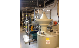 Chemické čistírny odpadních vod od firmy W.P.E. a.s. Praha