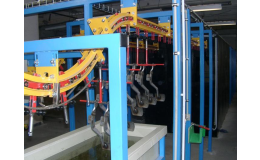 Galvanické a mořicí linky pro povrchovou úpravu kovů a plastů