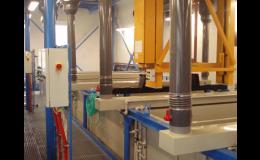 Realizace technologických zařízení pro povrchové úpravy kovů
