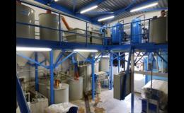 Rekonstrukce neutralizační stanice na odpadní vody
