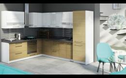 Moderní kuchyňské sestavy na základě 3 návrhu