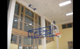 Sportovní vybavení pro basketbal, volejbal