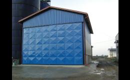 Realizace skladové haly v Lesonicích okres Třebíč