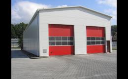 Výroba a stavba montovaných hal včetně opláštění