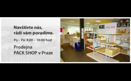 Prodej zásilkových obalů - Model Pack Shop Praha