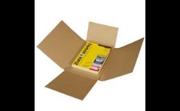 Zásilkové obaly, obaly na knihy, kalendáře