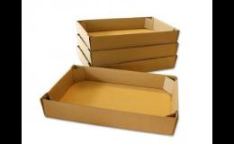 Dvoudílné papírové krabice na cukrářské výrobky