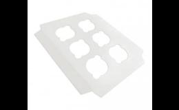 Jednodílná krabice na koláče, zákusky