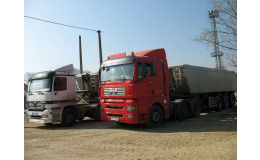 Doprava a stěhování strojů a stavební techniky