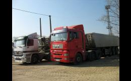 Doprava materiálu do 3,5 tuny pro Zlín a okolí