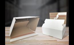 Lepenkové rychloboxy pro snadné balení zboží
