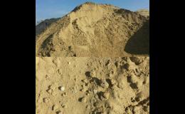 Písek netříděný