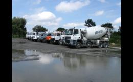 Domíchávač, betonárna pro město Opava a okolí