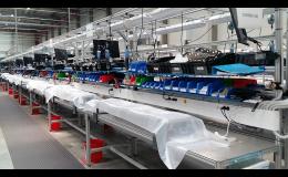 Výroba výrobních linek, testovacích zařízení - Letovice
