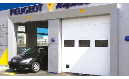 Sekční garážová vrata průmyslová - TECHNOPARK CZ Brno