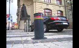 Výsuvné sloupy - zábrany vjezdu motorových vozidel