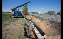 Bezvýkopová pokládka vodovodního a kanalizačního potrubí
