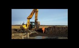 Terénní úpravy a výkopové práce