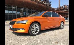 Ochrana laku karoserie wrapovou autofólií