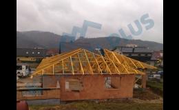 Certifikované příhradové střešní konstrukce Brněnsko
