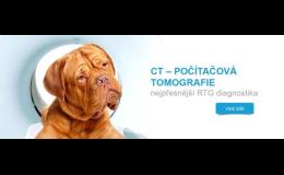 CT vyšetření malých a velkých zvířat - veterinární nemocnice Opava