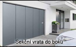 Privátní garážová vrata posuvná do boku - AutoDOOR Uherský Brod