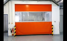 Průmyslová garážová vrata rychloběžná