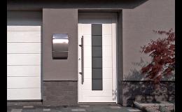 Vchodové dveře do rodinných domů