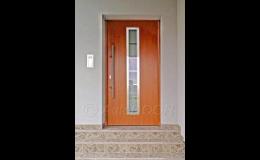 Vstupní dveře rodinných a bytových domů