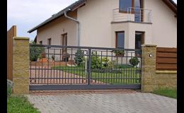 Privátní vjezdová brána posuvná - AutoDOOR Uherský Brod
