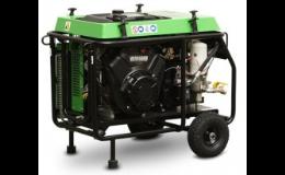 Pojízdný kompresor s vysokým výkonem