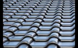 Střechy pálené, plechové, vláknocementové, bitumenové