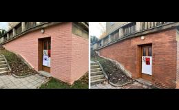 Čištění fasád Zlín - odstranění nečistot, preventivní ochrana fasád