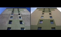 Efektivní čištění a ochrana fasád domů a budov