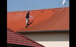 Čištění střech od plísní, mechu, smogu, mastnot - Zlínský kraj