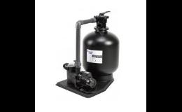 Filtrační stanice pracující na přirozeném principu filtrace vody
