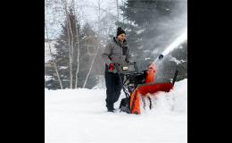 Sněhové frézy - prodej a autorizovaný servis