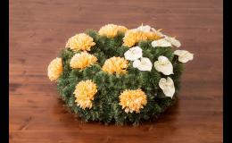 Vazba pohřebních věnců, vyřízení pohřebních náležitostí
