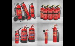 Prodej pojízdných i přenosných hasicích přístrojů