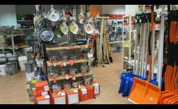 Prodej domácích potřeb - Zahradní technika Omelka Napajedla