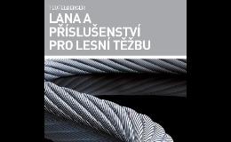 Silná ocelová lana Teufelberger pro lesnictví