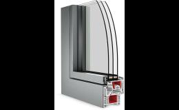 Plastová okna Slovaktual Optim s tepelně izolačním trojsklem