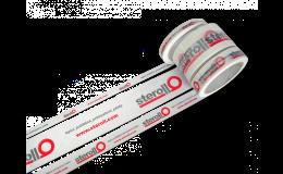 Potisk lepicích pásek firemním logem